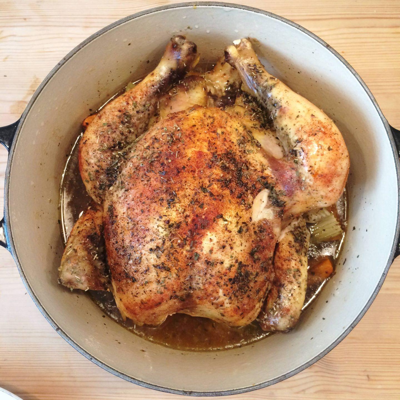 Chicken in crockpot