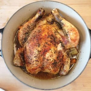 Chicken in crockpot