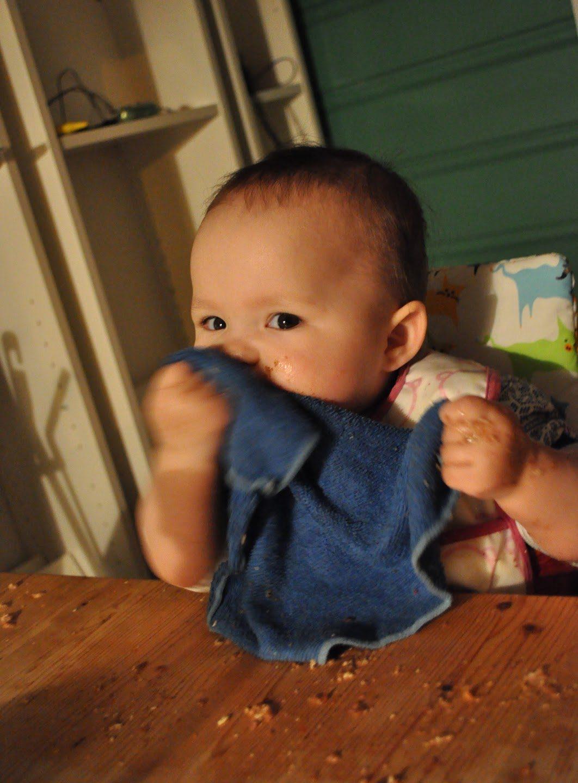 Hva skal jeg gi først når vi starter barnestyrt spising :: Flere begynnertips!