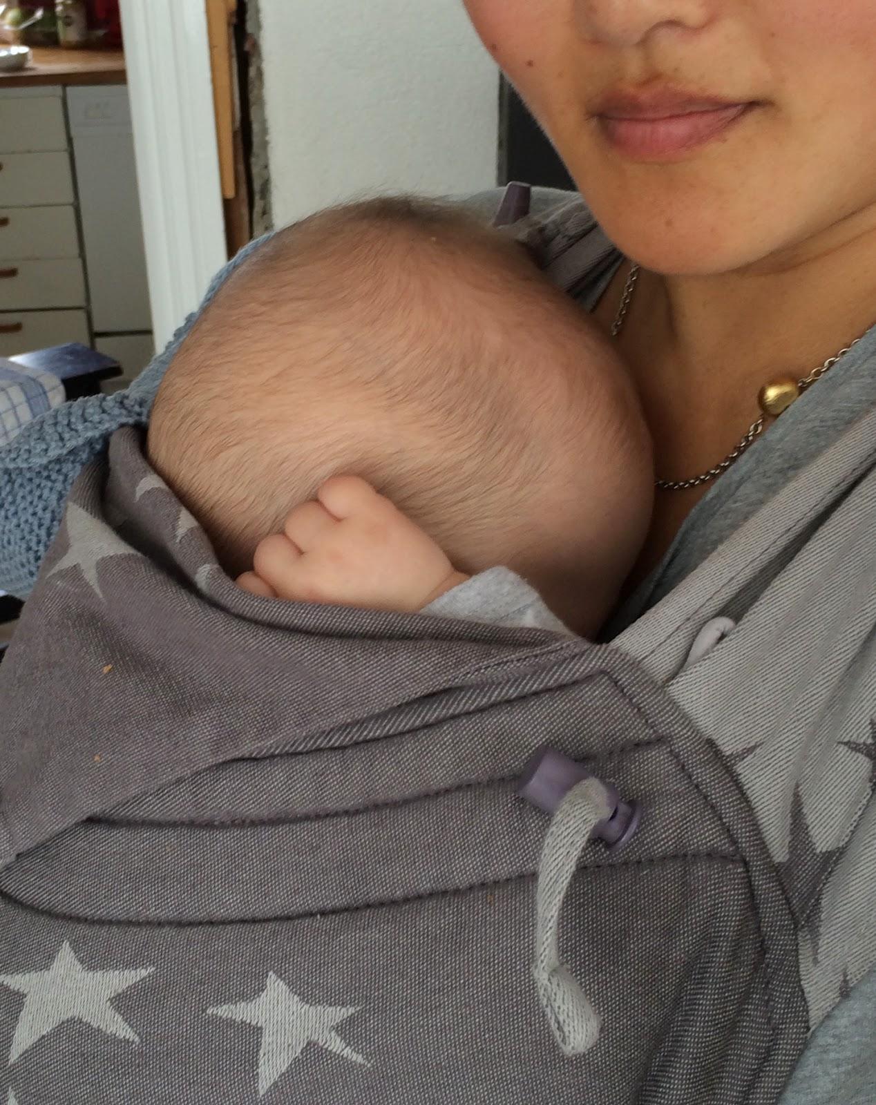 baby fire måneder i bæresele
